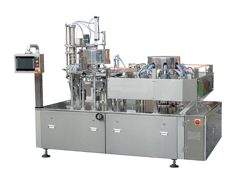 SLT-V100-A-A Single And Double Strips Of Dried Bean Pouch Vacuum Packaging Machine