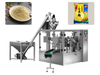 Rotary Automatic Pouch Corn Starch Powder Filling Sealing Packing Machine